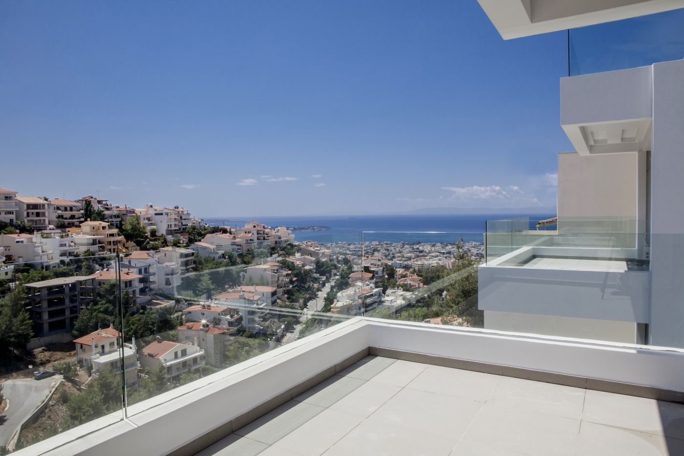 Christakis Oikonomou and Associates, Χρηστάκης Οικονόμου, Θέα θάλασσα, κατoικίες Πανόραμα Βούλας, Κατασκευαστική Γλυφάδα Θεσσαλονίκη