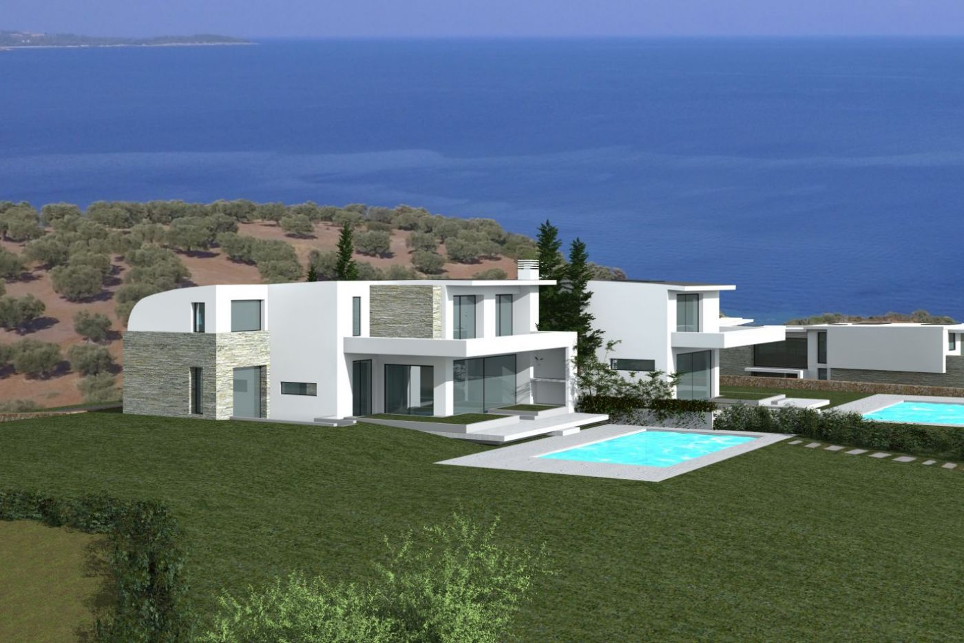 Christakis and Associates, Construction, Thessaloniki, Athens, Glyfada, Voula
